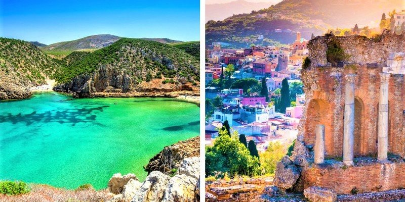 A Tale Of Two Sisters Sardinia And Sicily Travel Blog Clickstay