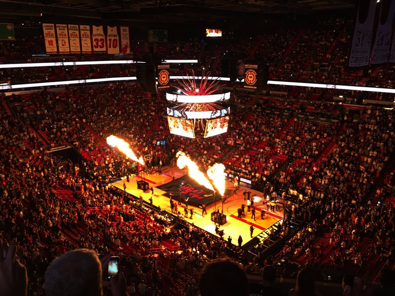 Miami Heat Basketball Game