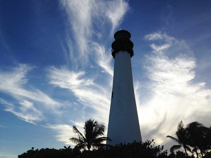 Lighthouse at Bay Biscayne