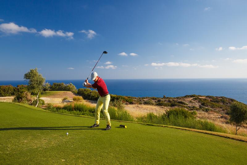 Golfing in Cyprus