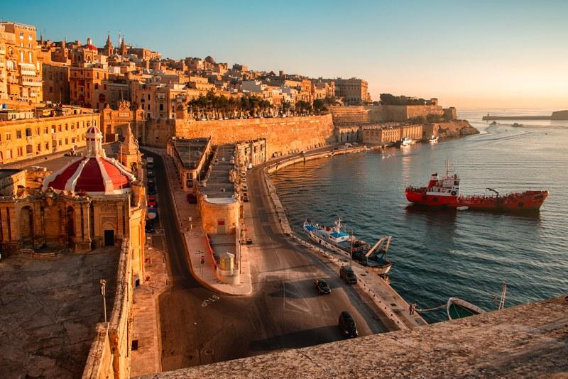 Valetta City in Malta
