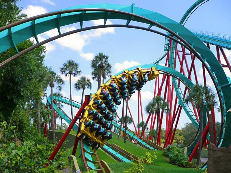 Busch Gardens Florida Holiday