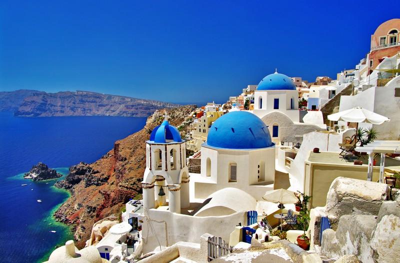 greece skyline