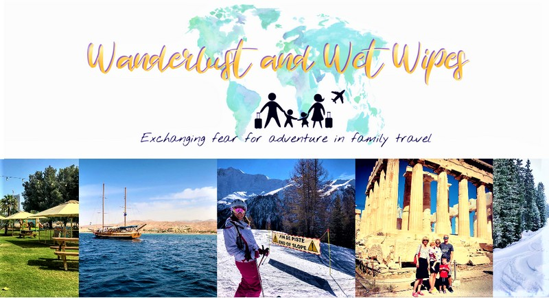 wanderlust and wet wipes header image