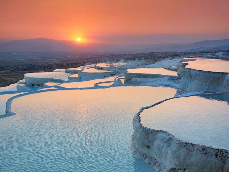 Pummake baths in Turkey