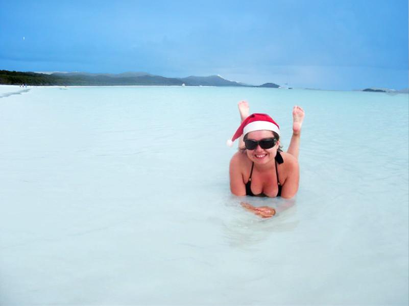 Beach Christmas Santa