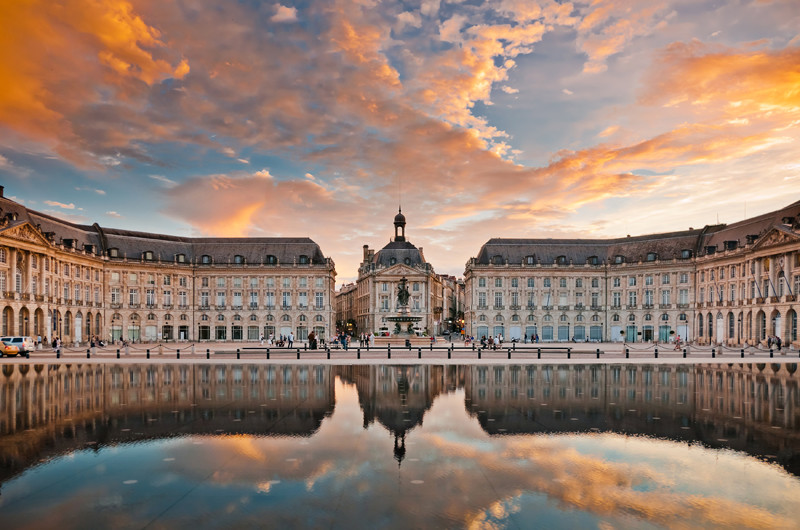 Bordeaux city architecture France