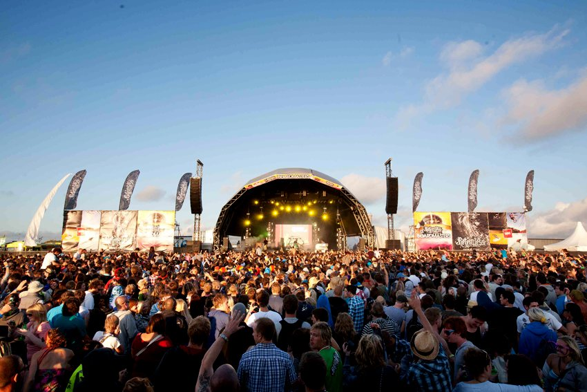 Boardmasters main stage festival