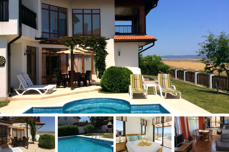 Large pool villa in Golden Sands, Bulgaria