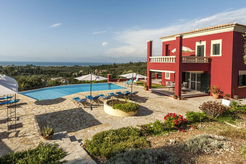 villa to rent in Corfu, Greece
