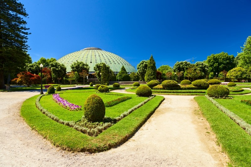 Crystal Palace Gardens in Porto, Portugal