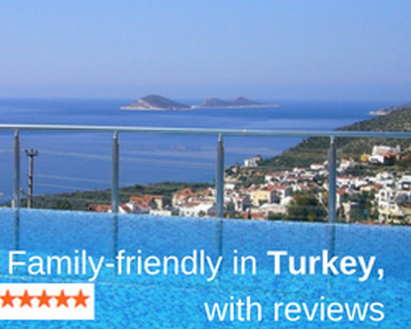 Family friendly villas in Turkey with renter reviews