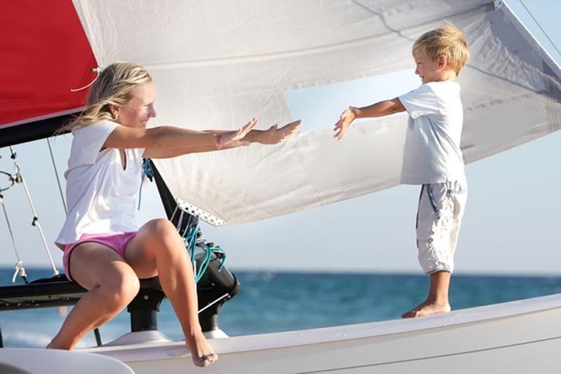 Yacht Turkey Family Holiday Kids