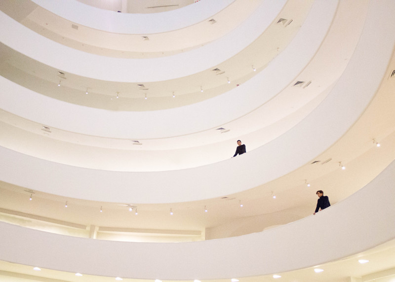 Guggenheim Museum of art in New York