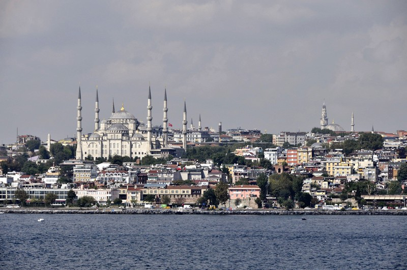 View across Istanbul