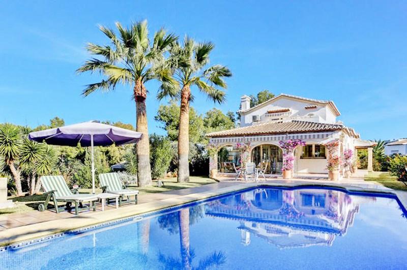 Villa in Javea Spain Clickstay