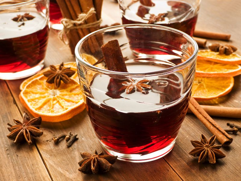 Mulled wine christmas