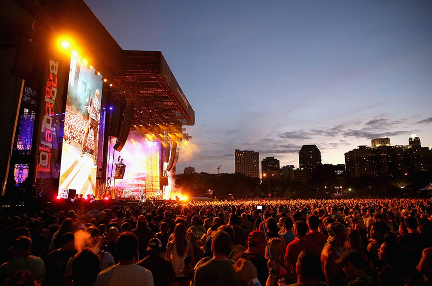 Main stage, Lollapalooza Brazil