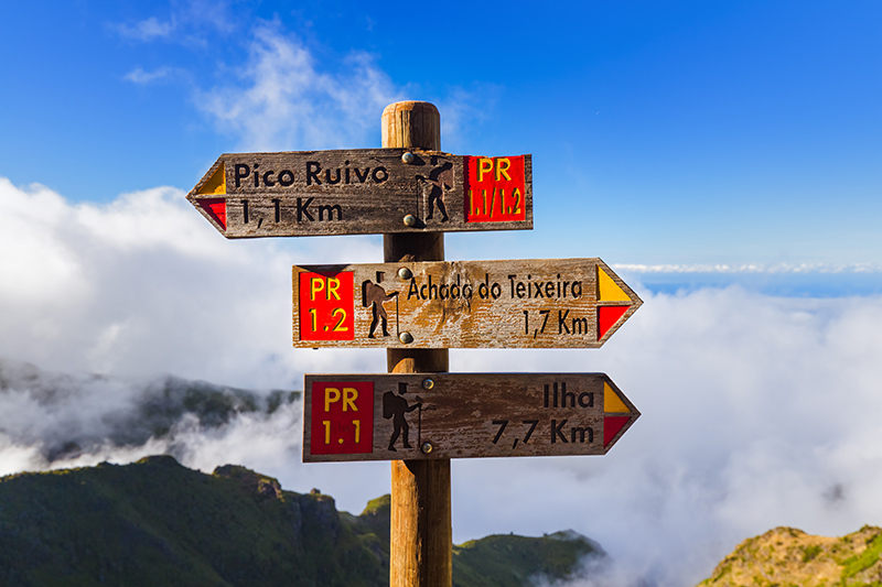 Which way? Madeira