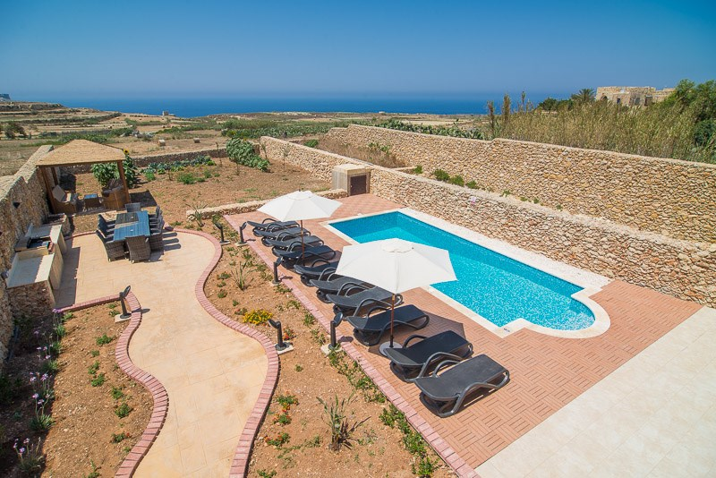 villa to rent in Gozo, Malta