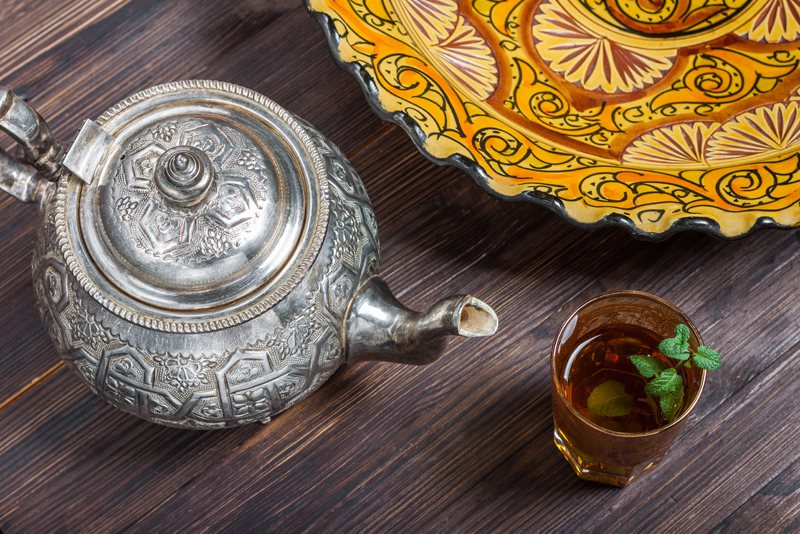 Morocco Mint Tea Teapot Marrakech souks