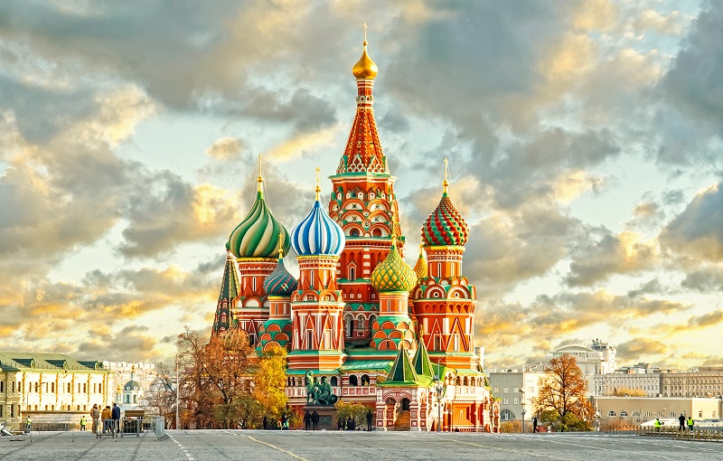 Moscow, the capital city of Russia
