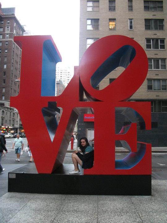 New York Love Sculpture