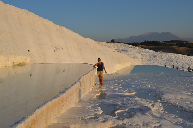 Pamukkale, natural spa in Turkey