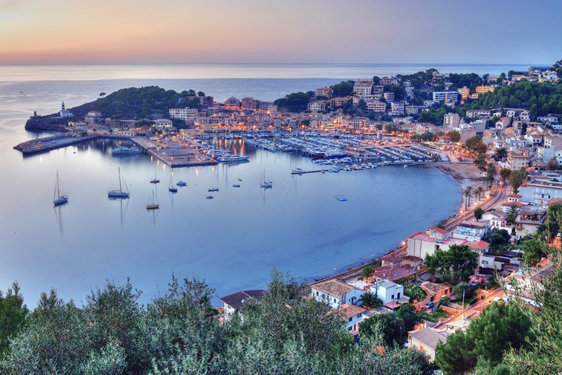Port de Soller sunset