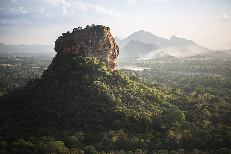 Ancient rock fortress Sigiriya