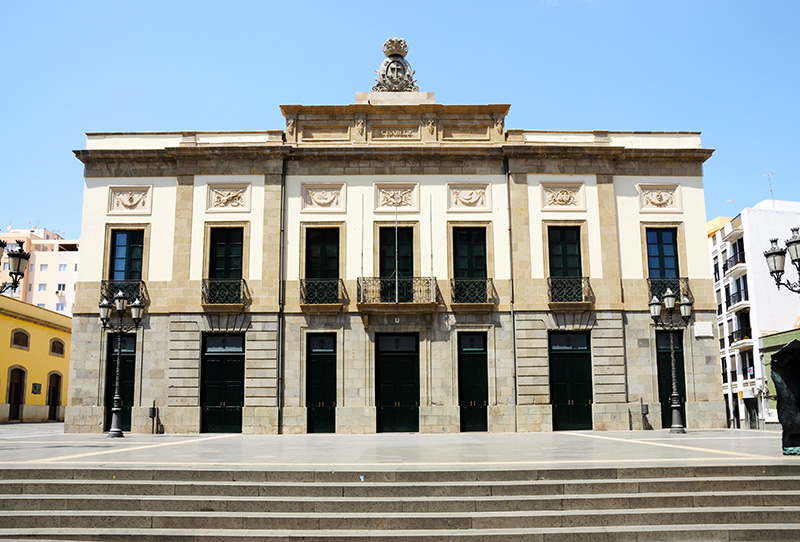 Teatro Guimera in Santa Cruz de Tenerife