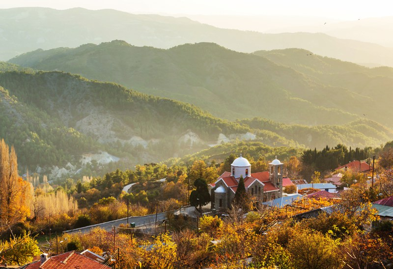 Hike in Cyprus to Troodos Mountains