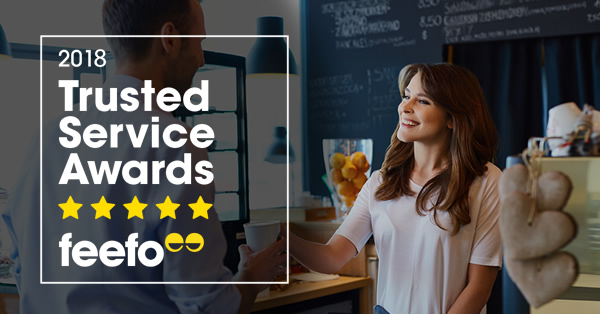 Clickstay wins Feefo gold trusted service award