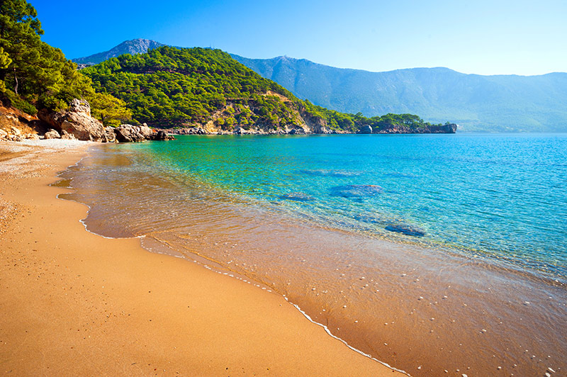 Turkey beach Antalya