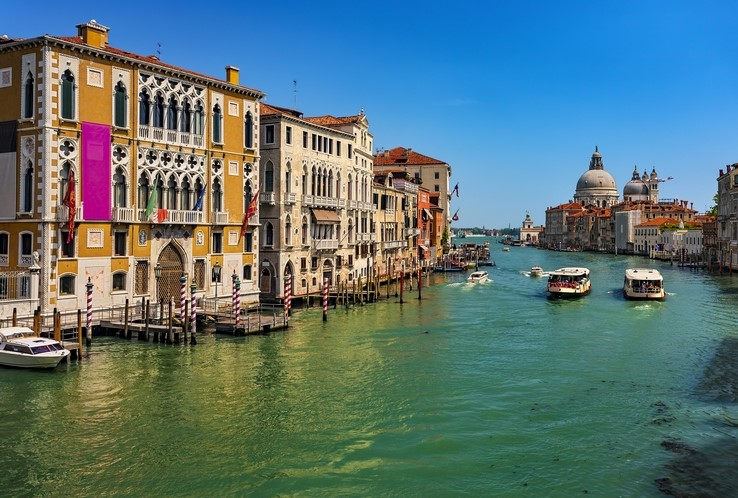 UNESCO protected Venice and its lagoon, Italy