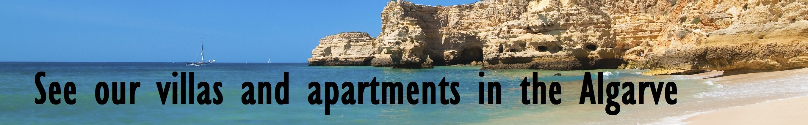 Villas and apartments in Algarve