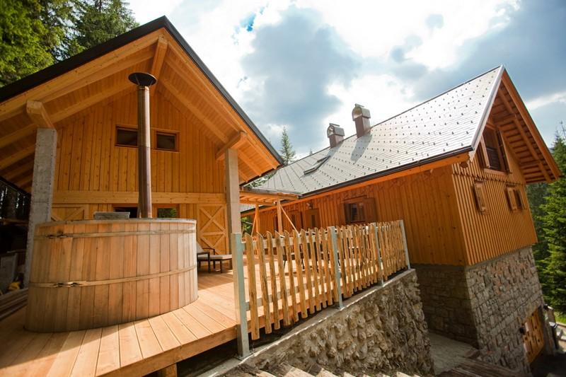 Wellness house in Triglav national park