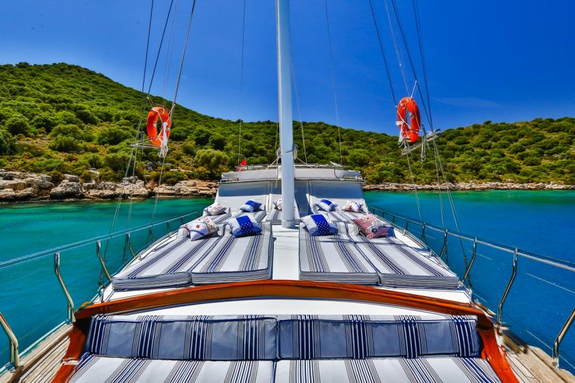 Luxury boat to rent in Kas, Turkey
