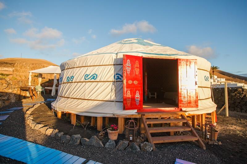 Yurt Massage Lanzarote
