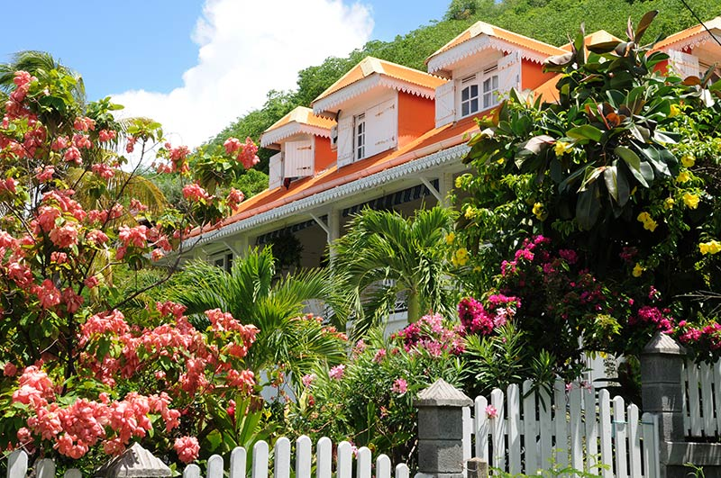 a house in Les Saintes In Guadeloupe
