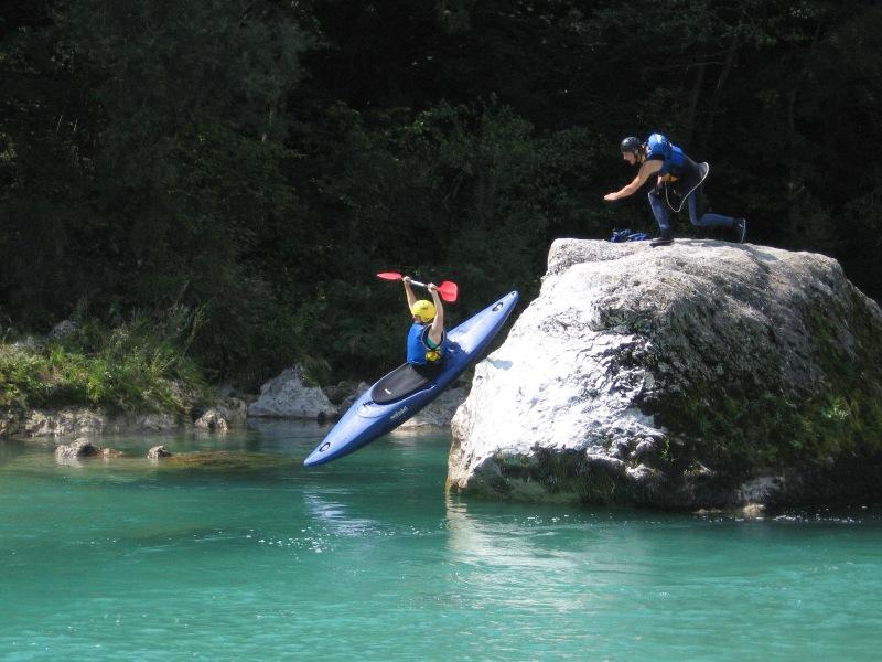 kayaking in Triglav National Park Slovenia