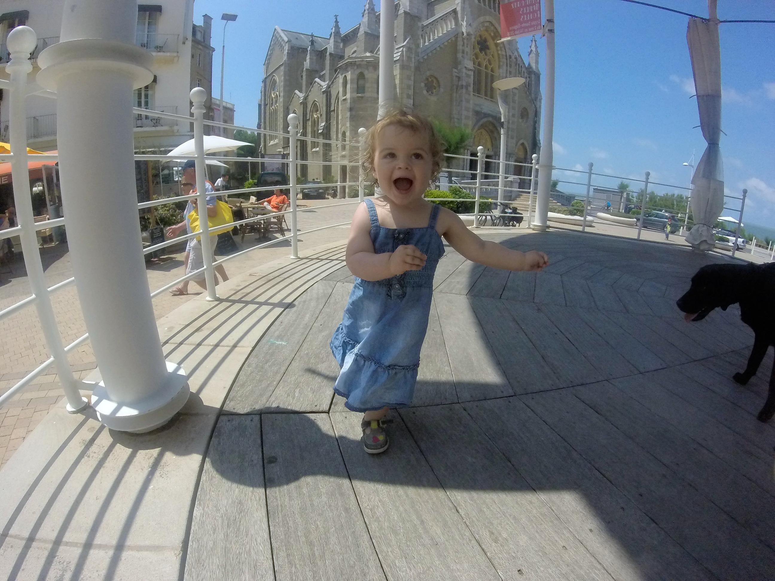 Biarritz bandstand, France