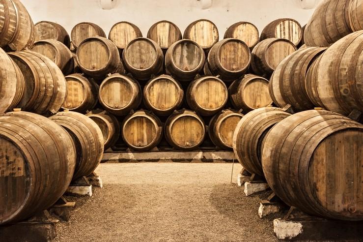 Wine cellars in Porto, Portugal