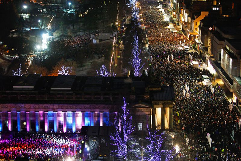 New Year's Eve in Edinburgh