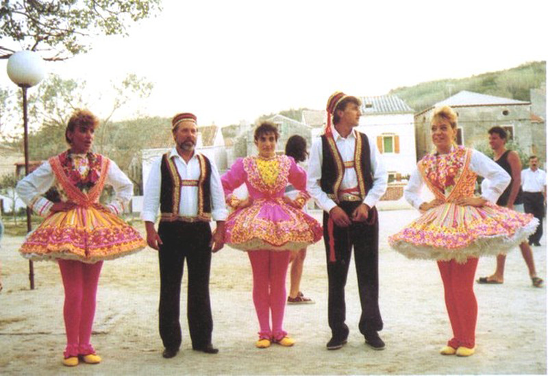 Women's national costume in Croatia