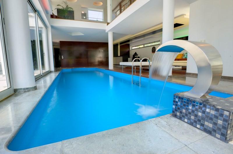 Contemporary pool in prestigious part of Portugal