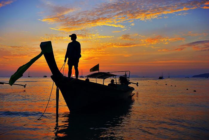 fishing in Koh Samui, Thailand