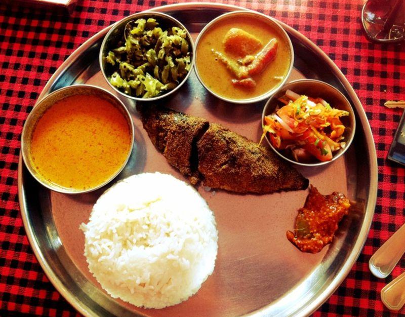 Thali Goa India
