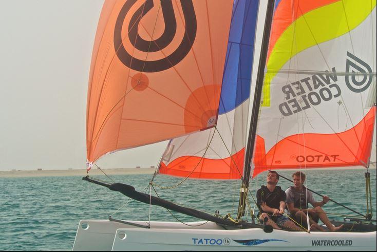Watercooled sailing
