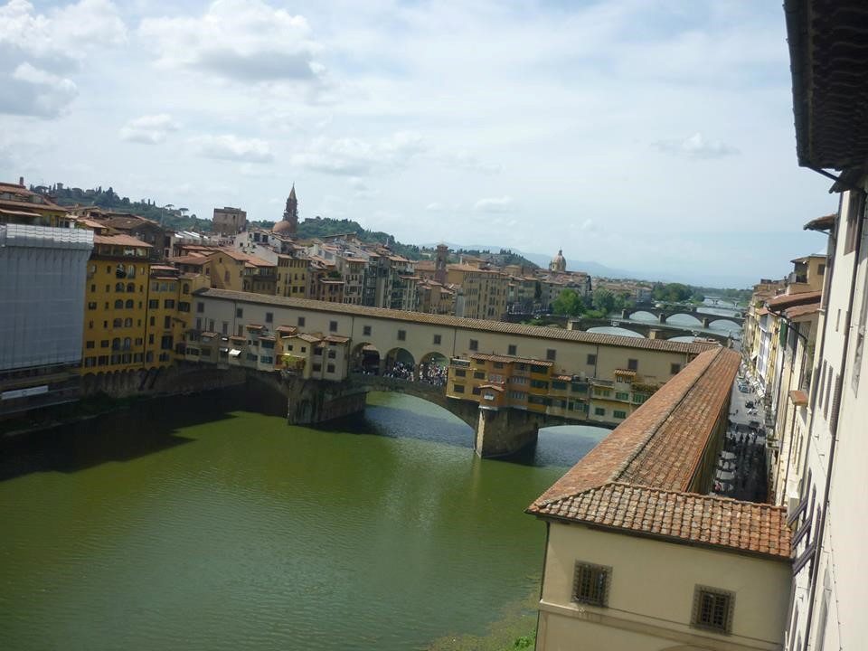Stunning views of Florence from the Piazzale Michelangelo.